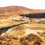Mountain roads in Sahara Tunisia — Stock Photo