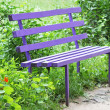 Park bench — Stock Photo #3355257