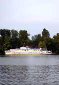 Pleasure boat — Stock fotografie