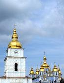 Mihailovskiy cathedral in Kiev — Stock Photo