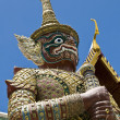 Thai guardian statue — Stock Photo