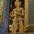 Stock Photo: Traditional thai statue at grand palace