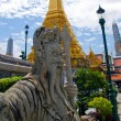 Traditional thai statue at grand palace — Stock Photo #2731381