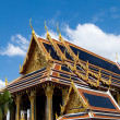 Thai buddhist temple Wat phra kaeo - Stockfoto