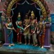 Hindu shrine - Stock Photo