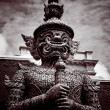 Stock Photo: Thai guardistatue