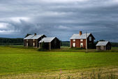 Rural scandinavia — Stock Photo
