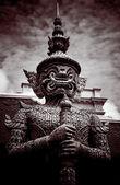 Statue gardienne thaïlandaise — Photo