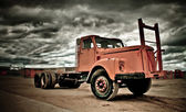 Old and weathered truck — Stock Photo