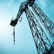 Lifting crane — Foto Stock