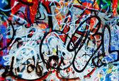 Grafitti background — Stock Photo