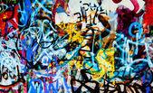 Fond de grafitti — Photo
