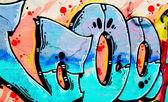 Grafitti fondo — Foto de Stock