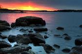 北部海岸线 — 图库照片