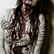 Zombie girl - Stock Photo