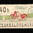Post stamp - Foto Stock