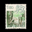 Foto de Stock  : Post stamp