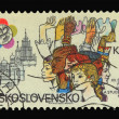 Post stamp — Foto de Stock