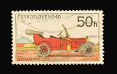 Briefmarke der post — Stockfoto