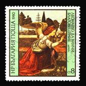 Post stamp — Стоковое фото