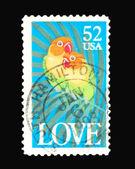 Post stamp — Foto de Stock