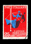 Poststämpel — Stockfoto