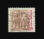 Timbre postal — Photo