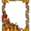 Thanksgiving Autumn Fall Background - Stock Photo