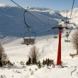 Ski center Mavrovo, Macedonia - 图库照片