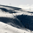 Ski center Mavrovo, Macedonia — Stockfoto