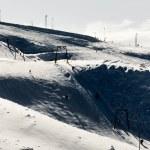 Ski center Mavrovo, Macedonia — Stock Photo