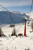スキー センター マブロボ、マケドニア — ストック写真