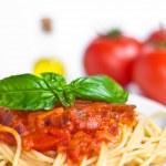 Spaghetti alla Bolognese — Stock Photo