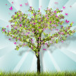 Stock Photo: Spring Tree