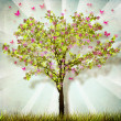 Spring Tree - Stock Photo