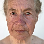 Natural portrait of a senior — Stock Photo