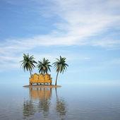 Isla — Foto de Stock