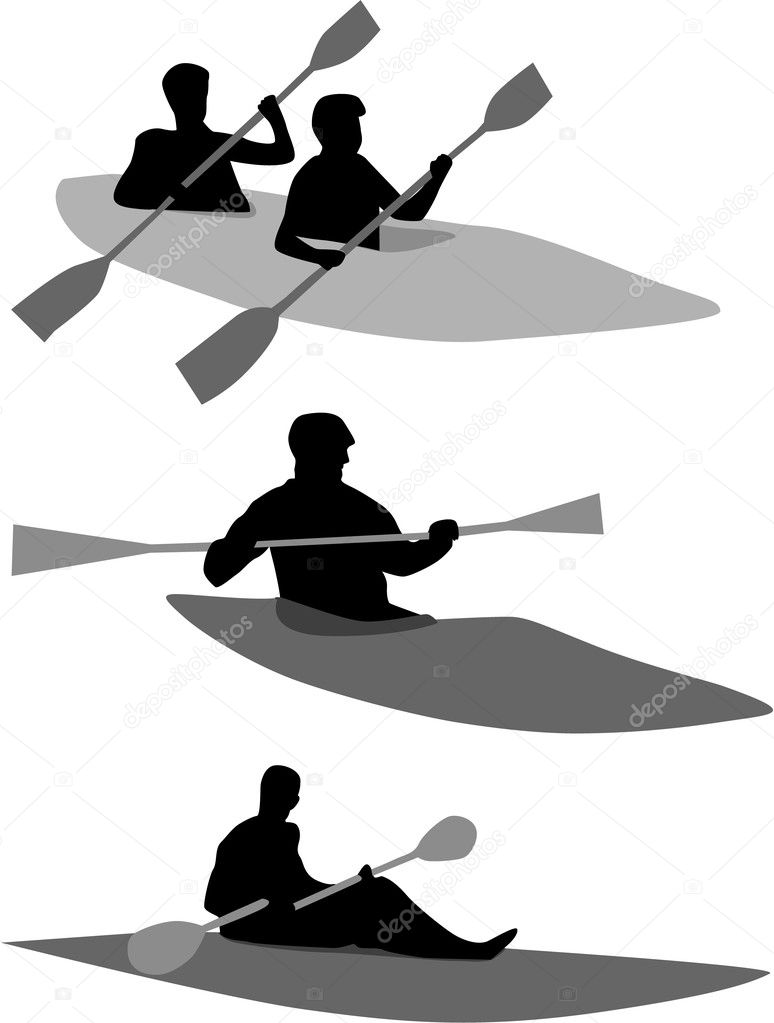 Kayak — Stock Vector #3372045