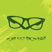 Hip Glasses Series — Stock Vector