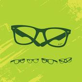 Хип очки серии — Cтоковый вектор