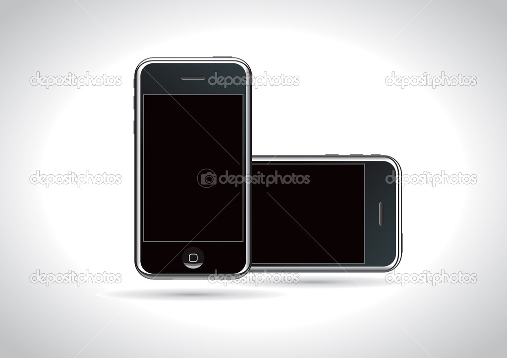 Modern smartphone high quality vector illustration. — Stock Vector #2730918
