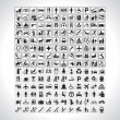 Pictograms Collection - Stockvektor
