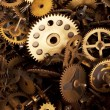 Mechanical Gears - Stock Photo