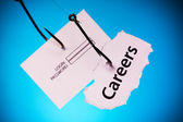 Careers, login, password — Stock Photo