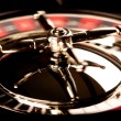 Roulette in motion — Stock Photo