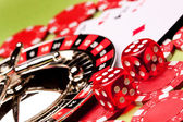 Closeup Casino Games! — Stock Photo