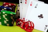 Juegos de casino! — Foto de Stock