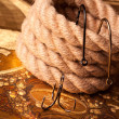 Fishing hooks - Stock Photo