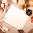 Sand, shells and more! Best Holidays — Stock Photo