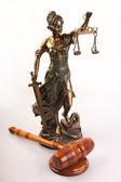 Conceito de direito — Fotografia Stock
